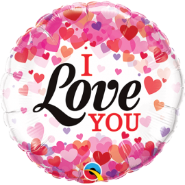 """9""""Love you (Minimo 5 unid) Air-Fill (Termosellado aire)"""