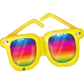 "42"" Rainbow Striped Sunglasses (minimo 3 unid)"