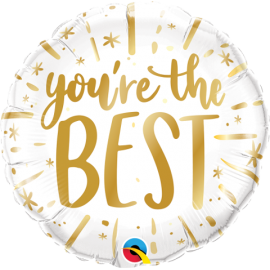"""18"""" You´re The Best Gold (minimo 3 unid)"""
