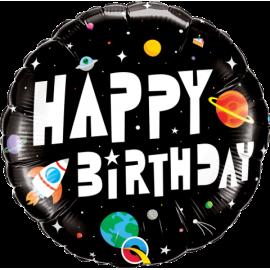 "18"" Birthday Astronaut (minimo 3unid)"