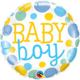 "18"" Baby Boy (Minimo 3 Unid)"