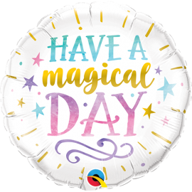 """18"""" Have A magical Day (minimo 3 unid)"""