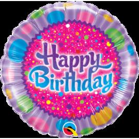 "18"" Birthday Sprinkles (minimo 3 unid)"