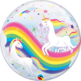 "22"" Birthday Raimbow Unicorns (minimo 3 unid)"