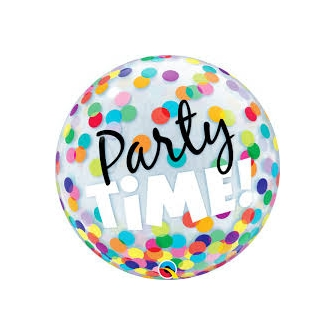 """Party Time ! Colourful Dots 22"""" (Minimo 3 Unid)"""