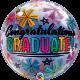 Congratulations Graduate & Stars (minimo 3 unid)