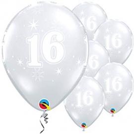 """11"""" Sparkle A Roundi (25ct) 16"""
