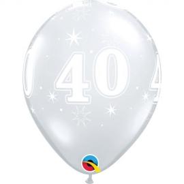 """11"""" Sparkle -A- Round 40 (25unid)"""