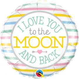 "18"" I Love You To The Moon (Minimo 3 unid)"