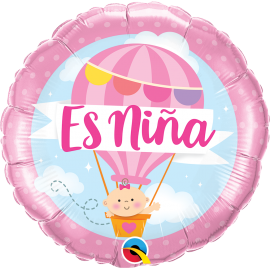 "18"" Es Niña (Minimo 3 Unid)"
