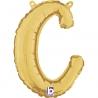Letra Script C ( Disponible en oro y plata)