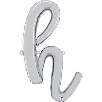 Letra Script H ( Disponible en oro y plata)