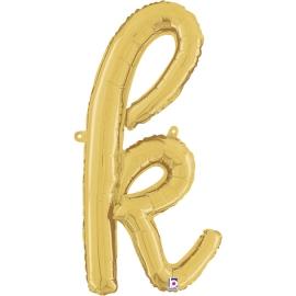 Letra Script K ( Disponible en oro y plata)
