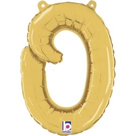 Letra Script O ( Disponible en oro y plata)