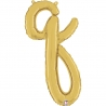 Letra Script Q ( Disponible en oro y plata)