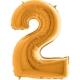 """40"""" Numero 2 (1ct) Gold"""