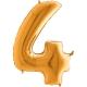 """40"""" Numero 4 (1ct) Gold"""