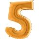 """40"""" Numero 5 (1ct) Gold"""