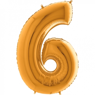 """40"""" Numero 6 (1ct) Gold"""