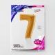 """40"""" Numero 7 (1ct) Gold"""