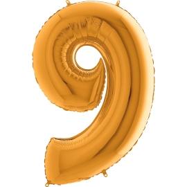 """40"""" Numero 9 (1ct) Gold"""