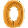 """40"""" Numero 0 (1ct) Gold"""