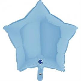 """36"""" Estrella Mate Pale Blue (Minimo 3 unid)"""
