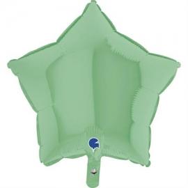 """18"""" Estrella Mate Green (Minimo 5 unid)"""