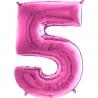 "26"" Numero 5 Fuxia (Helio y Aire) 66cm"