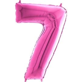 "26"" Numero 7 Fuxia (Helio y Aire) 66cm"