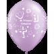 """11"""" Mi Primera Comunión Prl Lavender (50unid)"""