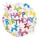 "18"" Happy Birthday (minimo 3 unid)"