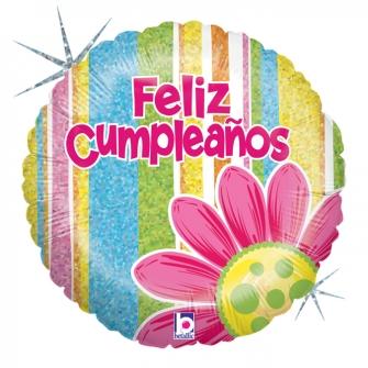 "18"" Feliz cumpleaños (minimo 3 unid)"