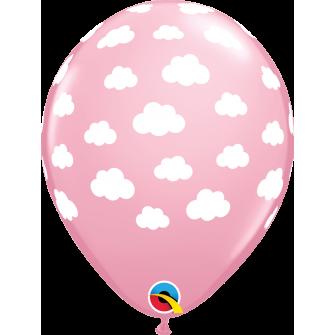 """11"""" Pink Nubes (50 unid)"""