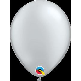 "5"" Silver 100 Unid (Plata perlado)"