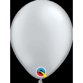 "9"" Silver 100 Unid ( Plata Perlado)"