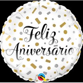 """18"""" Feliz Aniversario (minimo 3 unid)"""