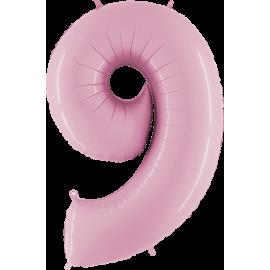 "Numero 9 Tono Pastel Rosa (01ct) 40"" (101cm)"