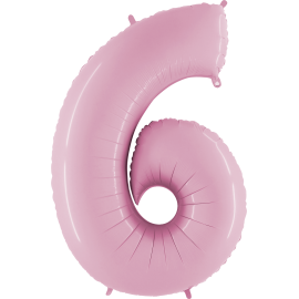 "Numero 6 Tono Pastel Rosa (01ct) 40"" (101cm)"