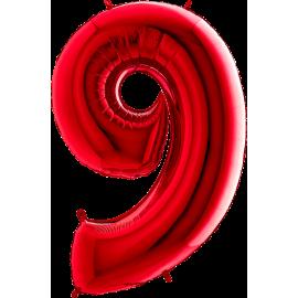 "26"" Numero 9 Red (Helio y Aire) 66cm"
