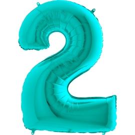 """26"""" Numero 2 Tiffany (Helio y Aire) 66cm"""