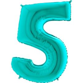 """26"""" Numero 5 Tiffany (Helio y Aire) 66cm"""
