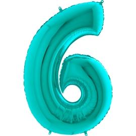 """26"""" Numero 6 Tiffany (Helio y Aire) 66cm"""