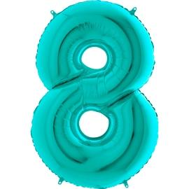 """26"""" Numero 8 Tiffany (Helio y Aire) 66cm"""
