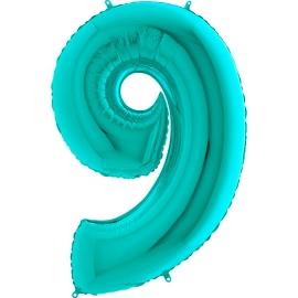 """26"""" Numero 9 Tiffany (Helio y Aire) 66cm"""