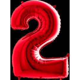 "26"" Numero 2 Red (Helio y Aire) 66cm"