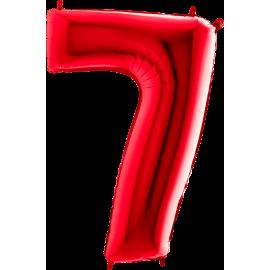 "26"" Numero 7 Red (Helio y Aire) 66cm"