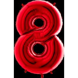 "26"" Numero 8 Red (Helio y Aire) 66cm"