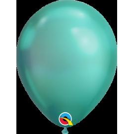 "07"" Chrome 100 unid Green"