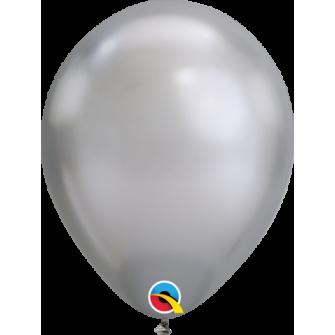 "07"" Chrome 100 unid Silver"